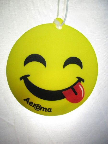 Aeroma Lufterfrischer Happy Smiley Peach