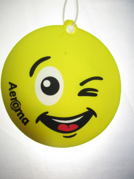 Aeroma Lufterfrischer Happy Smiley Bubble Gum